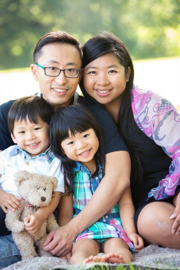 Dr Ken family Photo